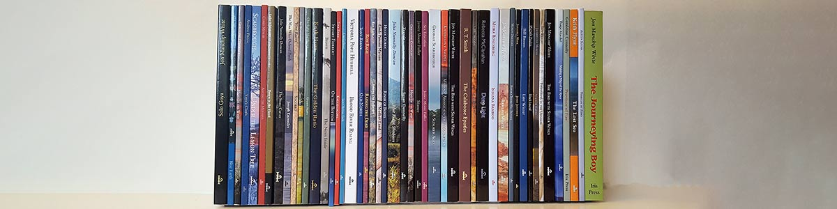 Iris book spines image